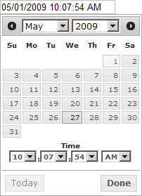 Combined date and time picker - wxWidgets Discussion Forum