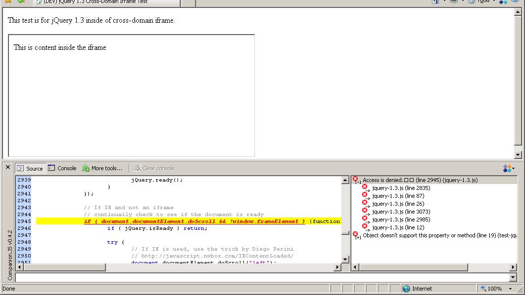 Javascript Screenshot Iframe